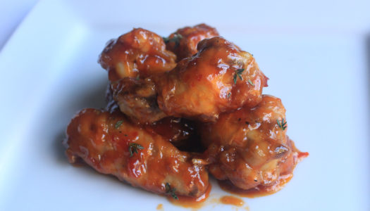 Sweet chilli chicken wings recipe