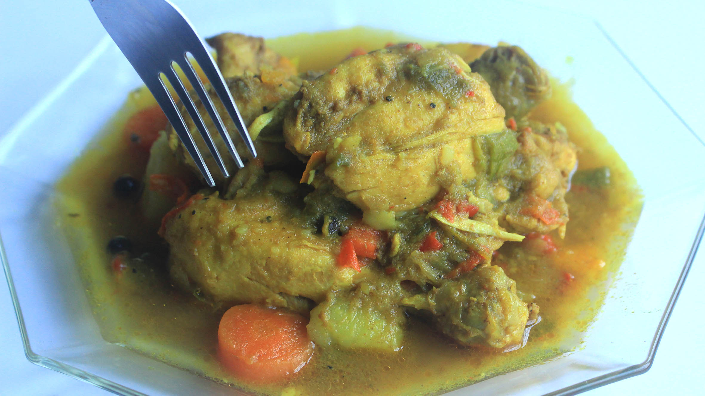 how to fix jamaican curry chicken