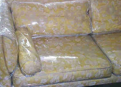 Donu0027t Take The Plastic Slip Covers Off The Couch U2013 Even Though Itu0027s 20+  Years Old!