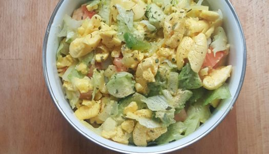 Ackee and Avocado salad