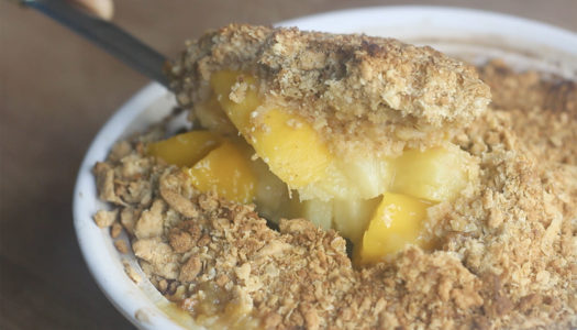 Mango & Pineapple Crumble
