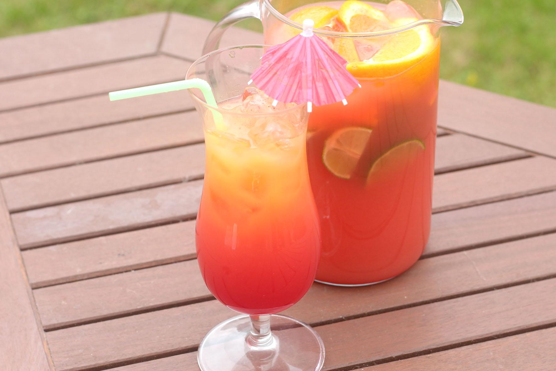 Caribbean Rum Punch Recipe Original Flava