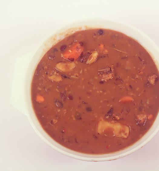 Red Pea Soup   Jamaican Comfort Foods