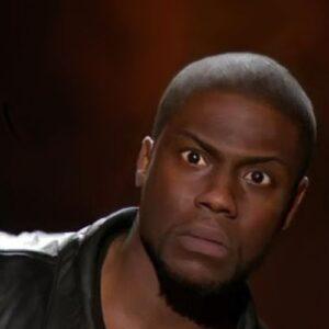 Kevin Hart shocked face