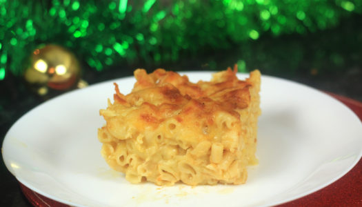 Original Flava's Cheesy Macaroni and Cheese/Pie