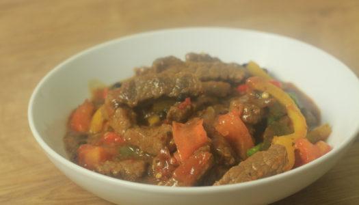 Original Flava's Pepper steak