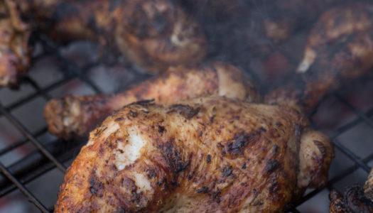 Jerk chicken (BBQ Grill)