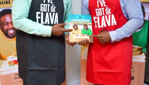 Our Caribbean cookbook is here! (delivery notice)