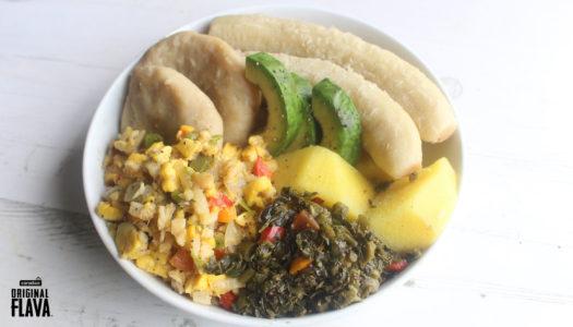 Jamaican Hard Food Bowl