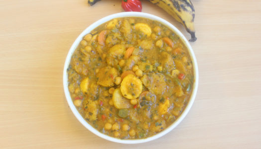 Plantain & Chickpea curry