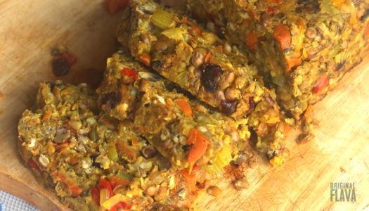 Mum's Vegan Lentil Roast