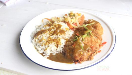 Caribbean katsu curry