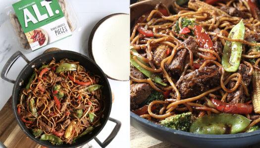 Lambless Chow mein