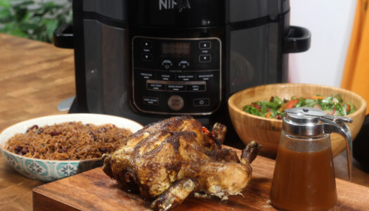 Caribbean spiced Chicken (Pressure cooker)