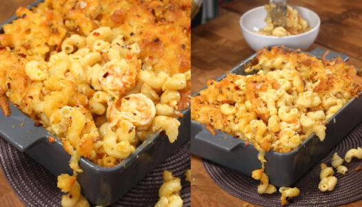 Shrimp Mac n cheese