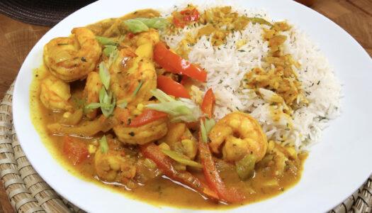 Curry Shrimp