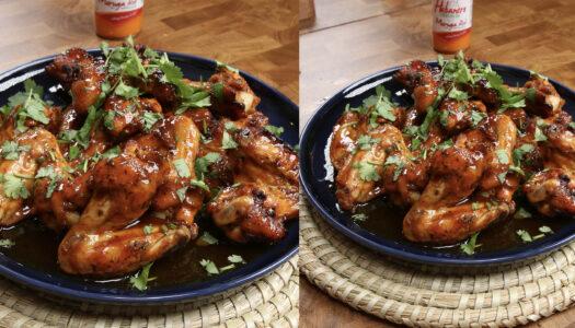 Sweet & Spicy Hot Wings