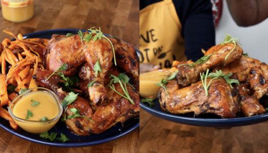 BBQ Mango chicken