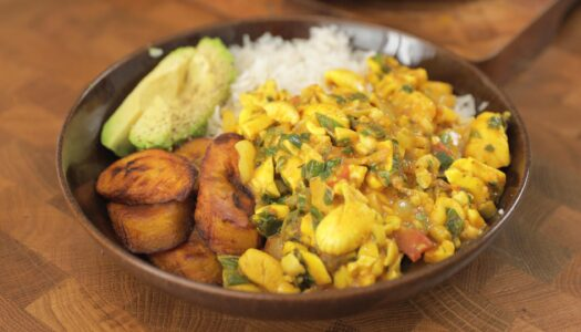Curry ackee
