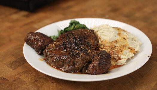 Steak & Yam Mash